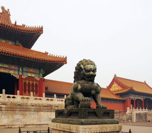 Blume des Lebens Peking verbotene Stadt